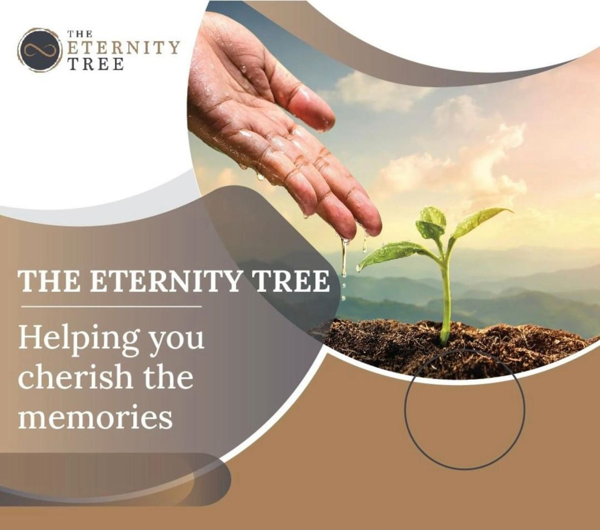 Eternity tree planting for funeral