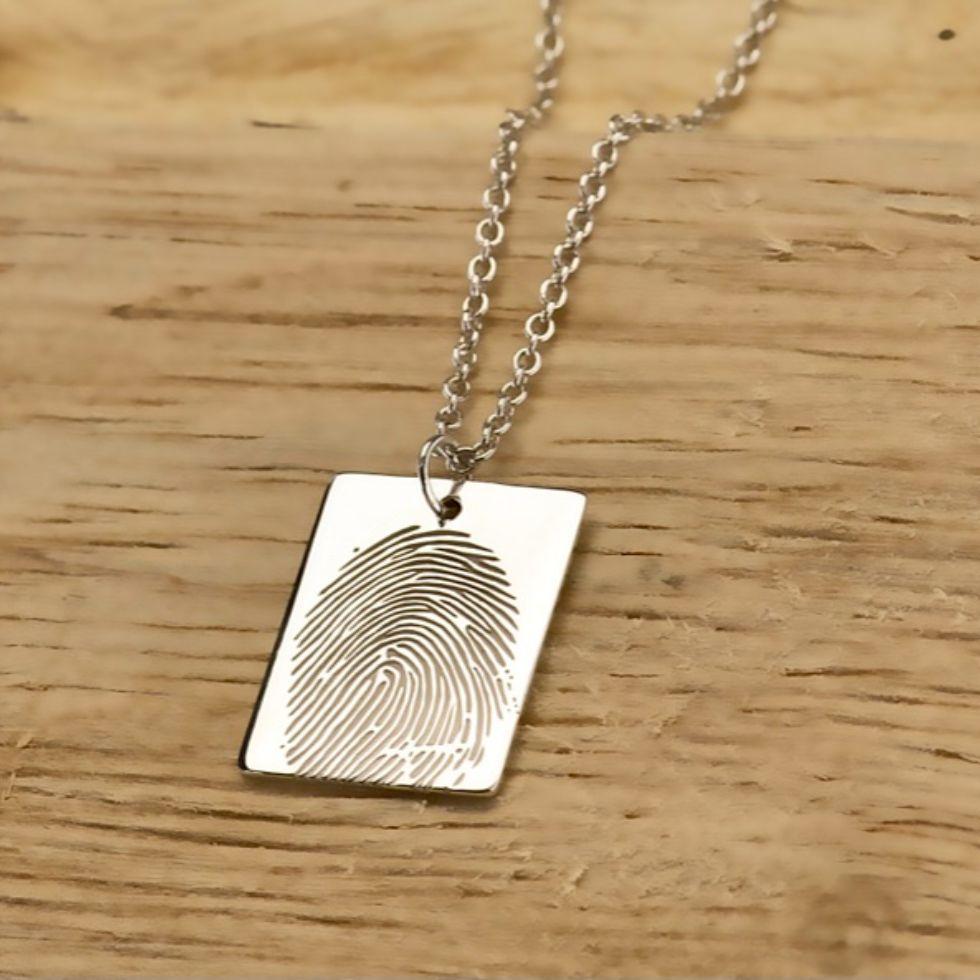 memorial jewellery fingerprints