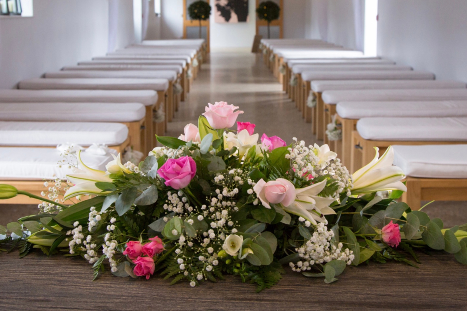 funeral ceremony flowers