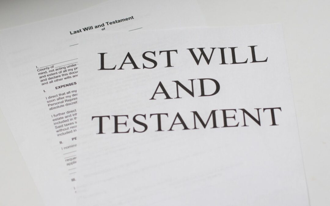 Planning to Make a Will